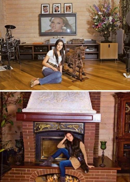 В загородной резиденции Алсу создала уютную домашнюю обстановку. | Фото: theworldnews.net.