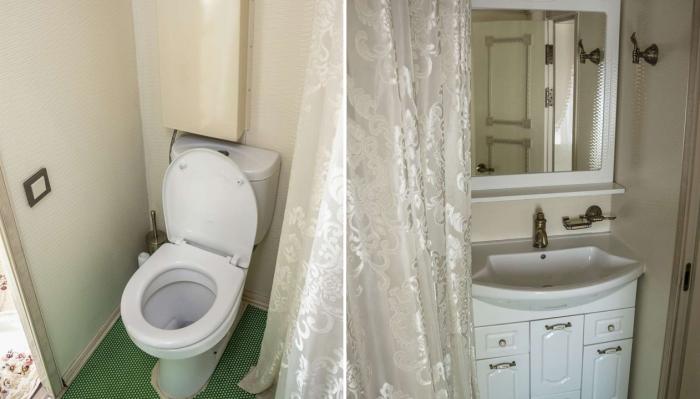 В вагоне оборудована полноценная ванная комната («Туран экспресс», гранд-вагон).   Фото: b-picture.livejournal.com.