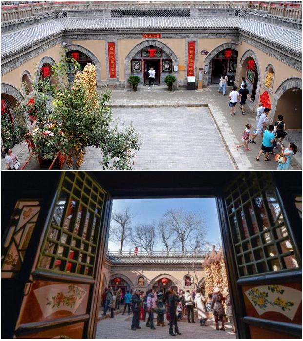 В самых колоритных домах организовали музей традиционного искусства оформления пещер яодун (Китай). | Фото: pastuh83.livejournal.com.