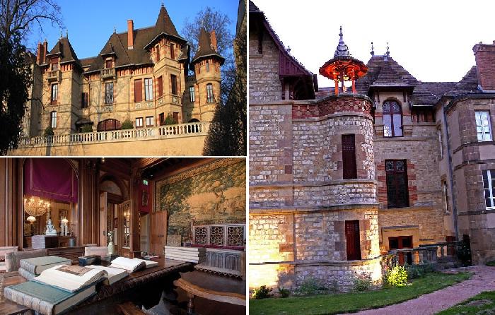 Дом-музей самого эксцентричного жителя города Луи Мантена.