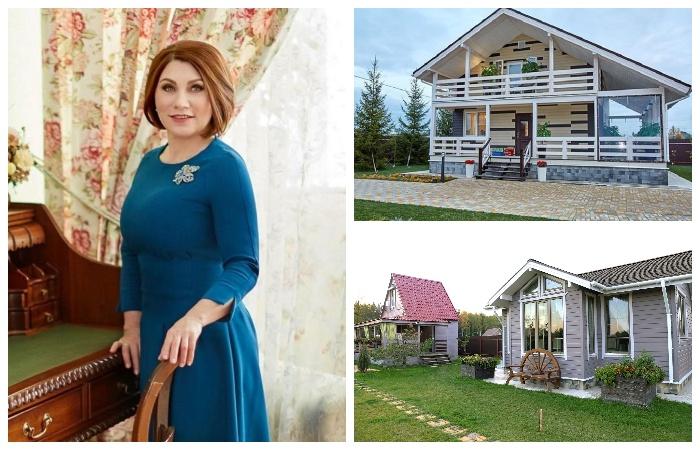 За год общими усилиями удалось построить загородную резиденцию для семьи Розы Сябитовой.