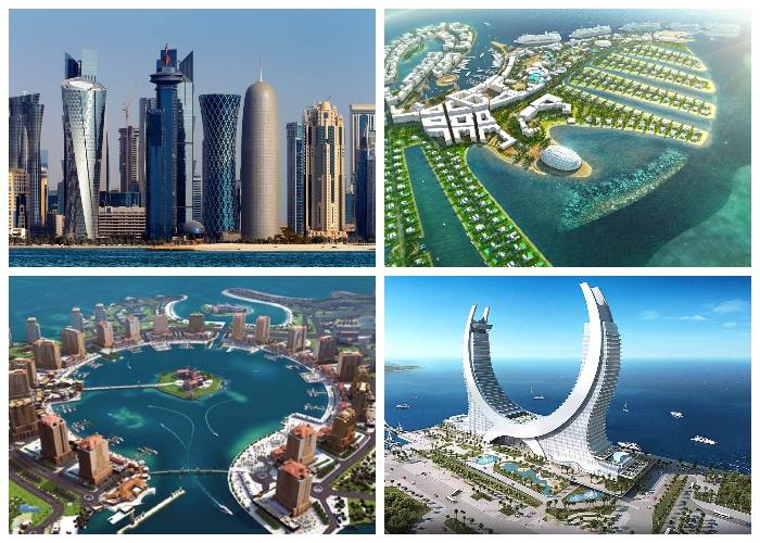 Катар становится очень привлекательной для туристов страной.