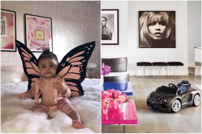 У малышки есть не только своя комната, ее игрушки можно увидеть по всему дому. | Фото: instagram.com/ kyliejenner.