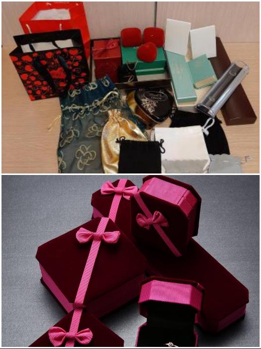 Каким бы дорогим подарок ни был, коробочку или пакетик от него хранить не стоит. | Фото: roomble.com/ youla.ru.