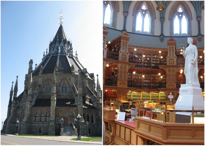 Библиотека Парламента Канады (Оттава).