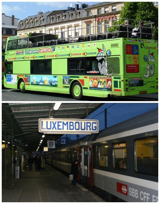 С лета 2018 года для детей и молодежи до 20 лет проезд в Люксембурге бесплатный.