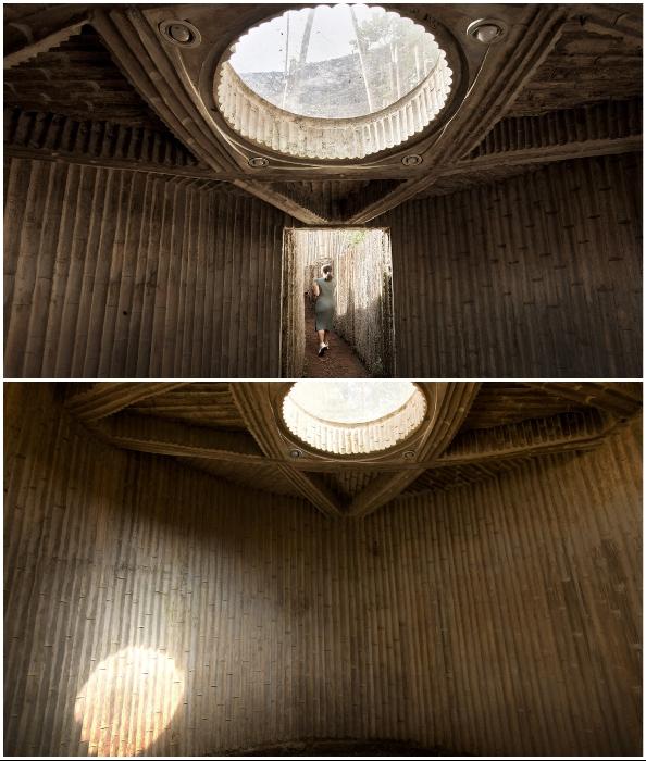 Таинственная комната для молитв расположена под землей (Piyandeling, Индонезия).