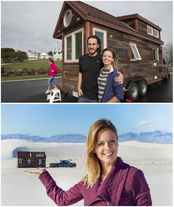 Благодаря совместному проекту Tiny House Giant молодые люди смогли реализовать свою мечту.