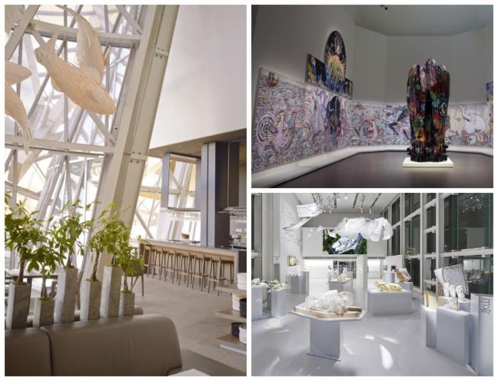 Музей современного искусства Фонда Louis Vuitton стал современнейшим культурным центром столицы (Франция). | Фото: entdesign.net.