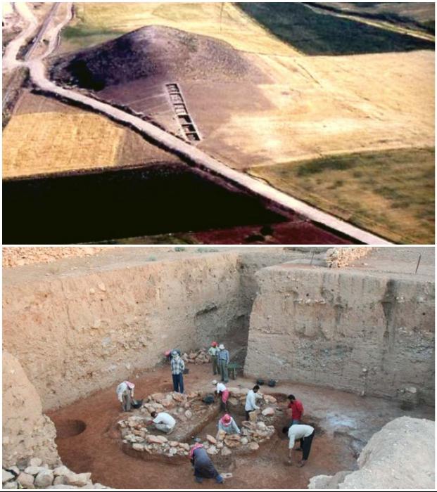 Древний курган Тель-аль-Карамель – яркое свидетельство того, что наши предки были куда развитей, чем считалось (Алеппо, Сирия).