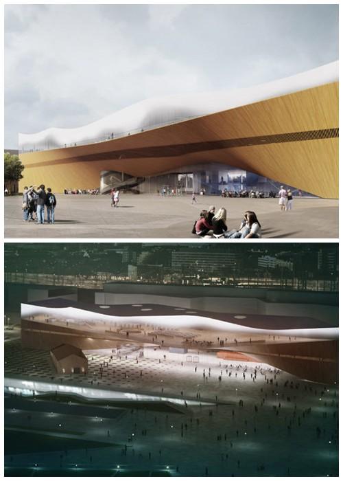 Деньги на строительство современного комплекса выделили из государственной казны (Центральная библиотека Oodi, Финляндия).