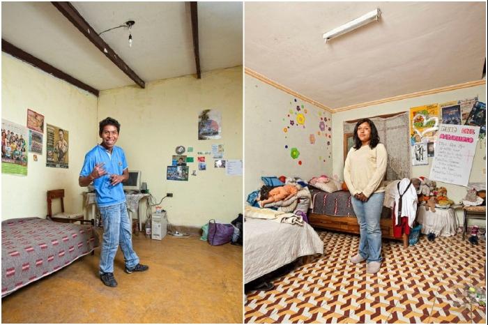 Так живут иногородние студенты университетов Боливии (в основном из сельской местности). | Фото: interesno.cc/ © Henny Boogert.