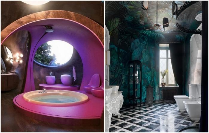 Любители экзотики могут расслабиться в домашнем спа-салоне.   Фото: salon.ru/ roomble.com.