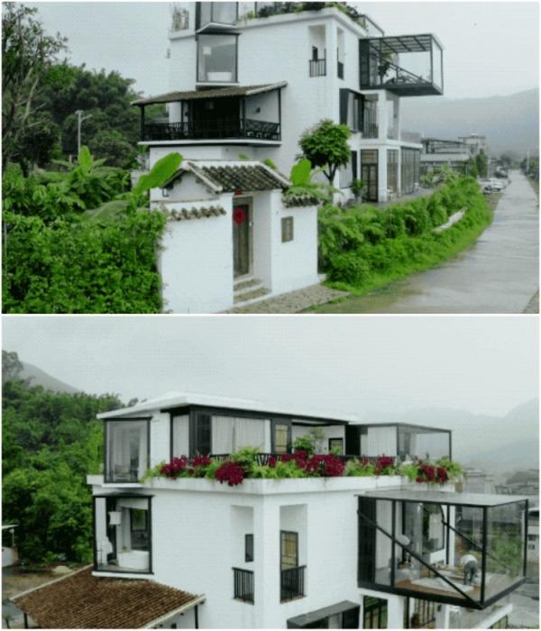 В особняке удалось обустроить не только общую зону и несколько ванных комнат, но и 10 изолированных спален (Гуанчжоу, Китай). | Фото: m.creaders.net.