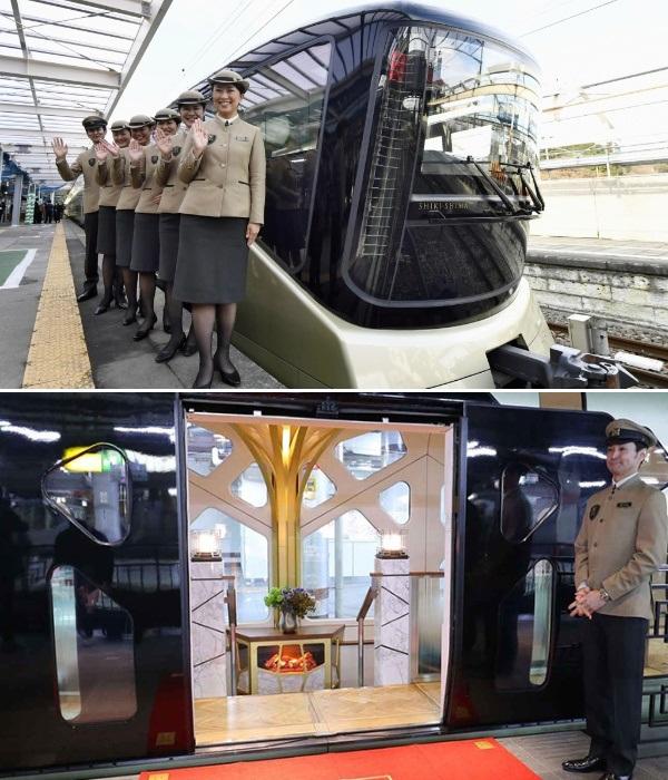 Suite Shiki-Shima – признан самым роскошным поездом мира (Япония). | Фото: joinus.pro.