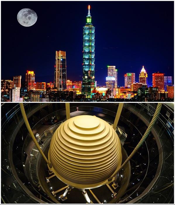 Башня Тайбэй 101 привлекает не только своей красотой, но и удивляет инженерными достижениями (Тайвань). | Фото: fotocommunity.de/ ru.wikipedia.org.