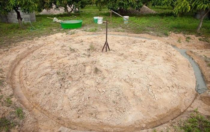 Купольные сооружения такого типа мощного фундамента не требуют (Earthen Dome Home, Таиланд). | Фото: novostiifakty.mediasole.ru./ ©Steve Areen.