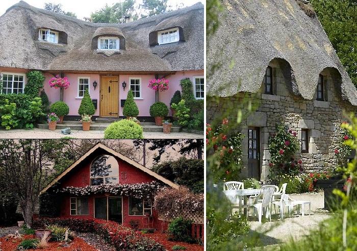 Каждый владелец дома старается создать неповторимую атмосферу в оформлении своего подворья.