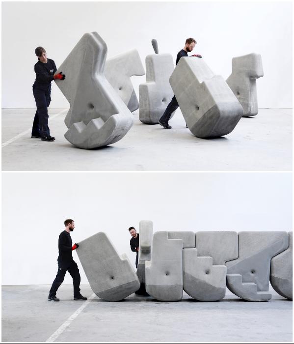 Американская лаборатория «Matter Design Studio» в течение 5 лет пыталась воссоздать весь процесс подготовки камней к перемещению и кладке. | Фото: matterdesignstudio.com.
