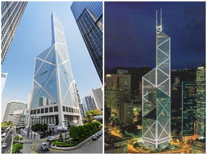 Bank of China Tower – местная штаб-квартира Банка Китая (Гонконг). | Фото: azboguide.com.