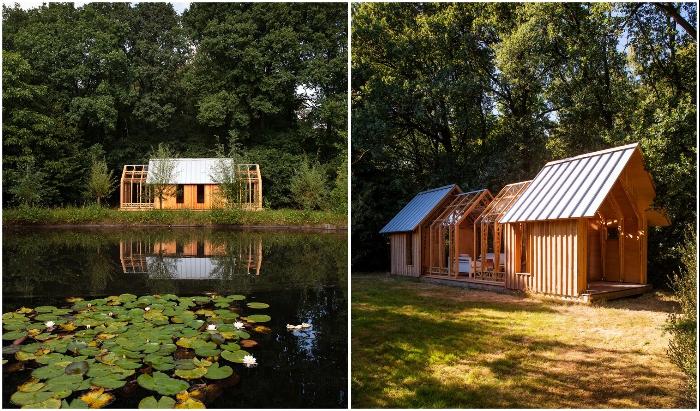 Садовый домик Garden House создал нидерландский физик Caspar Schols для своей мамы.