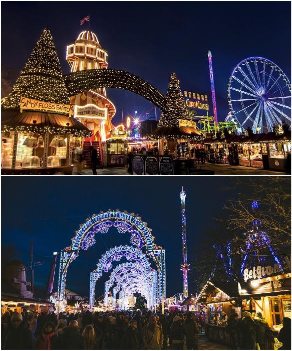 Сказочная атмосфера Рождества витает в воздухе Лондона (Великобритания). | Фото: alekom.kiev.ua/ zimamagazine.com.