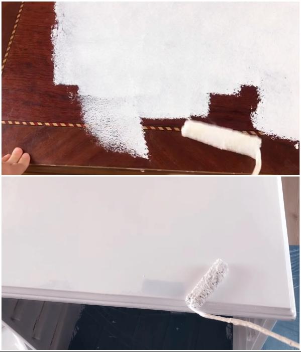 Вначале на все поверхности наносится слой грунтовки, а после высыхания покрываются несколькими слоями краски нужного цвета. | Фото: youtube.com/ © SULTANIN OYUNCAK ATOLYESI.