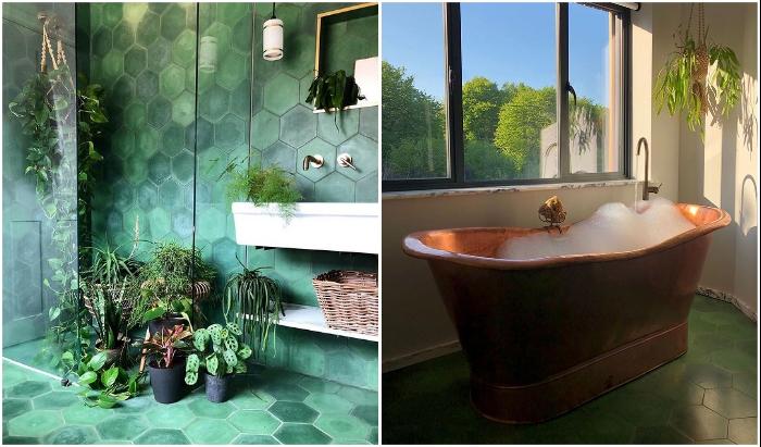 От такой ванной комнаты мало кто откажется. © Michaela | The old piggery.