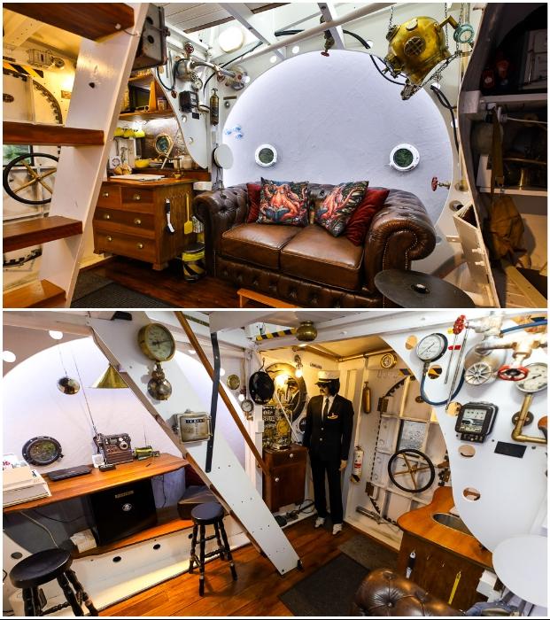 Гостевой дом предлагает уникальный развлекательный отдых среди девственной природы (Beatles yellow-submarine, Новая Зеландия).