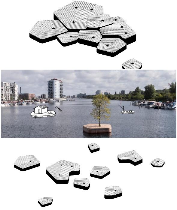 По мере реализации проекта, планируют увеличивать количество искусственных островов с городскими парками (концепт Copenhagen islands).