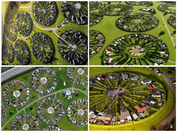 Снимки с неба получаются просто изумительными! (Брондбю, Дания). | Фото: fineartamerica.com.