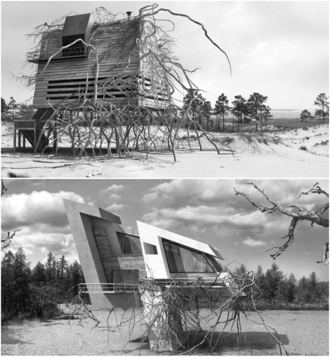 Фантастическая концепция на тему апокалипсиса «Inter-actions» стала вторым большим проектом Дионисио Гонсалеса. | Фото: dionisiogonzalez.es/ Dionisio Gonzalez.