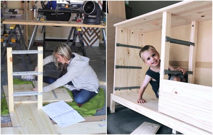 К некоторым задачам при сборке можно привлекать даже детей. | Фото: instagram.com/ © erinspainblog.