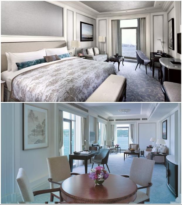 Пребывание в сьюте Shangri La Bosphorus Istanbul обойдется минимум в 30 тыс. дол. за сутки (2,2 млн руб.)