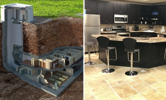 Все больше людей на планете старается обзавестись своим собственным бункером. | Фото: cozy-home-ideas.com.