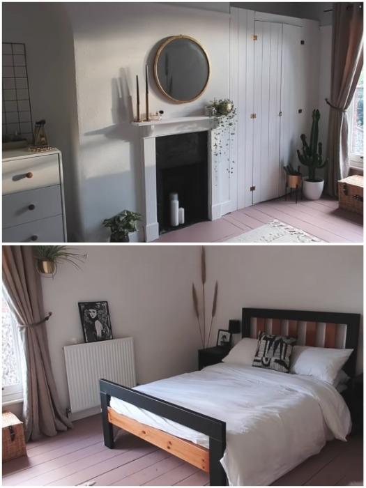 Линн Лим-Уолкер самостоятельно изменила комнату до неузнаваемости всего за 5 дней. | Фото: instagram.com/leannelimwalkerhome.