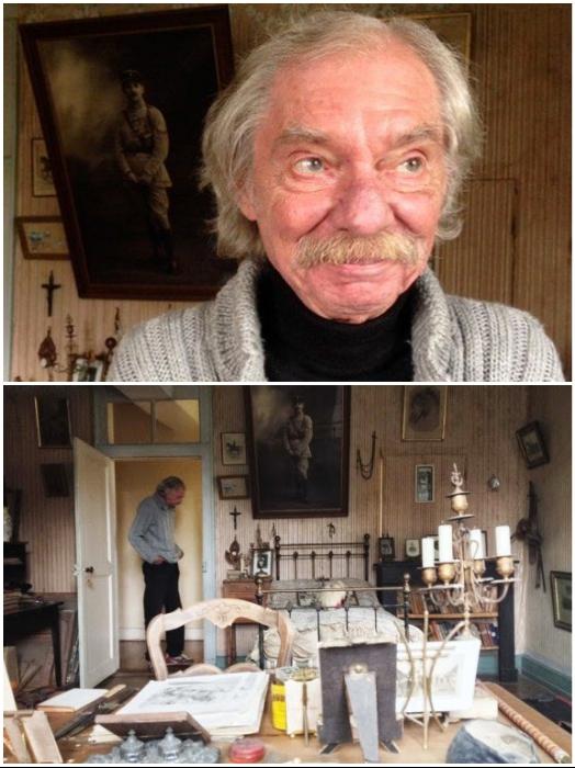 Даниэль Фабр бережно хранит все реликвии семьи Рошеро, но превращать свой дом в музей пока не собирается (Белабр, Франция). | Фото: fdra-historia.blogspot.com/ twizz.ru.