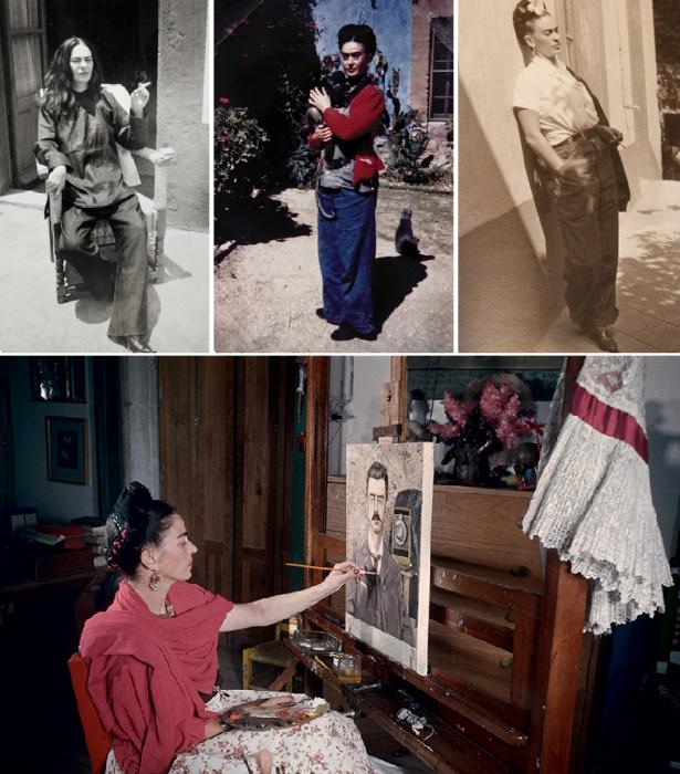 Редкие фото незаурядной личности в истории и искусстве XX века (Фрида Кало). | Фото: artmuza.spb.ru/ fullpicture.ru.
