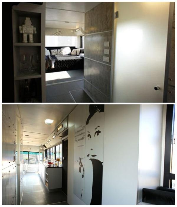 Системы хранения в доме на колесах. | Фото: imagenesvariadasde.blogspot.com.