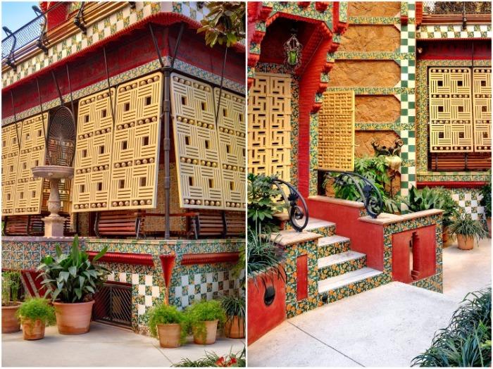 Каждая деталь, каждый элемент декора до сих пор поражает и приводит в восторг уже боле ста лет (Casa Vicens, Барселона). | Фото: elledecoration.ru/ David Cardelus.