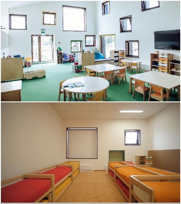 Для самых маленьких участников образовательного процесса созданы все условия («Точка будущего», Иркутск).