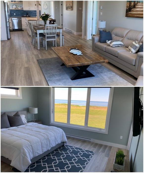 Beach House может похвастаться просторными комнатами, полным благоустройством, энергонезависимостью и большими окнами, позволяющими любоваться океаном. | Фото: nashvancouver.com/ vzavtra.net.