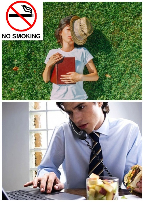 Запрещается курить, кушать возле аппаратуры и компьютерной техники, а также спать в горизонтальном положении (Центральная библиотека Oodi, Хельсинки).