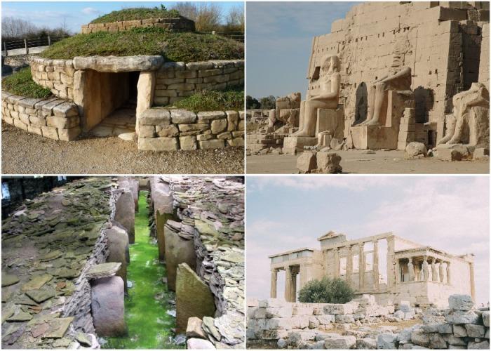 Одни из самых древних  сооружений на планете.