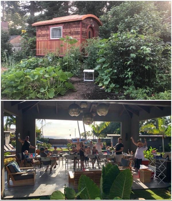 Благодаря мобильности крошечного дома Лина уже несколько раз за последние 5 лет сменила местожительство («Lucky Penny», США). | Фото: nichedesignbuild.com.