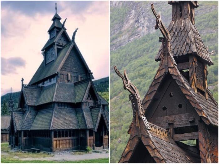 Ставкирка из Гуля сейчас находится в Музее истории норвежской культуры Norsk Folkemuseum (Осло, Норвегия). | Фото: homsk.com.