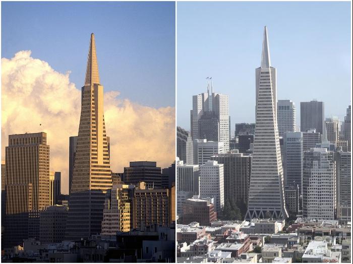 Пирамида Трансамерики действительно может принимать удар природных сил и выстоять во время землетрясений (Сан-Франциско, США). | Фото: lifeglobe.net/ delovoy-kvartal.ru.