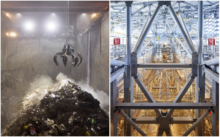 Завод Copenhill сжигает более 400 тыс. тонн мусора в год (Копенгаген). © Hufton + Crow.