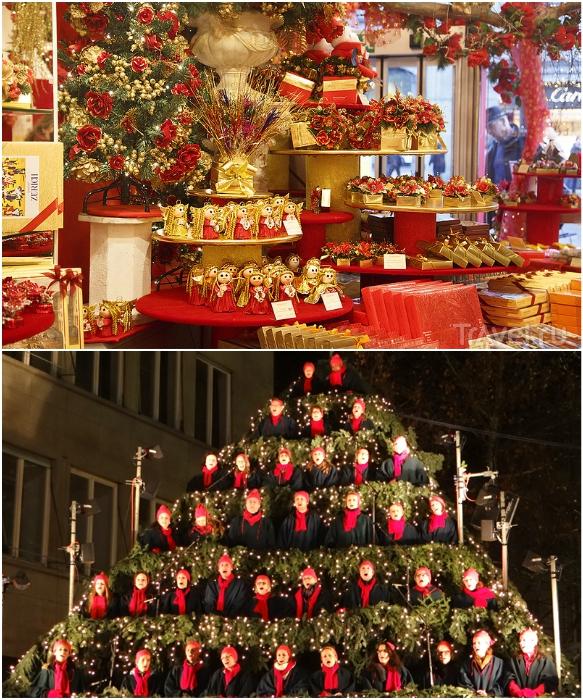 «Поющая елка» и рождественские ярмарки – главные развлечения Цюриха (Швейцария). | Фото: resorts4u.ru/ reports.travel.ru.