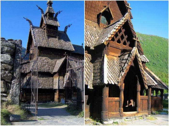 Средневековые церкви украшали не только церковной атрибутикой, но и мистическими драконами. | Фото: terra-z.com.